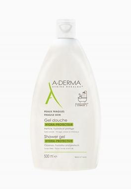 Gel Douche Hydra-Protecteur - A-Derma - Nettoie, hydrate et protège les peaux fragiles