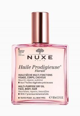 Huile Prodigieuse Florale - Nuxe - Huile sèche multi-fonctions visage, corps, cheveux