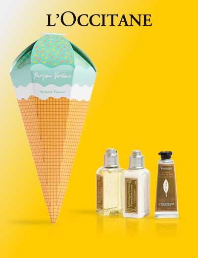 L'Occitane mini produits offerts